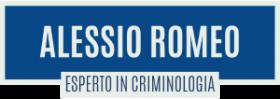 Alessio Romeo - Esperto in Criminologia Logo