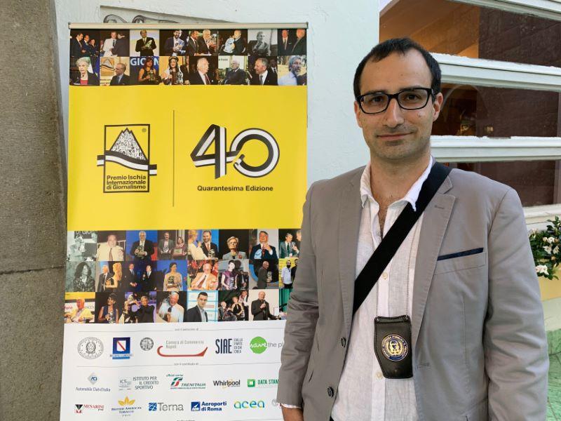 Security al Premio Ischia di Giornalismo