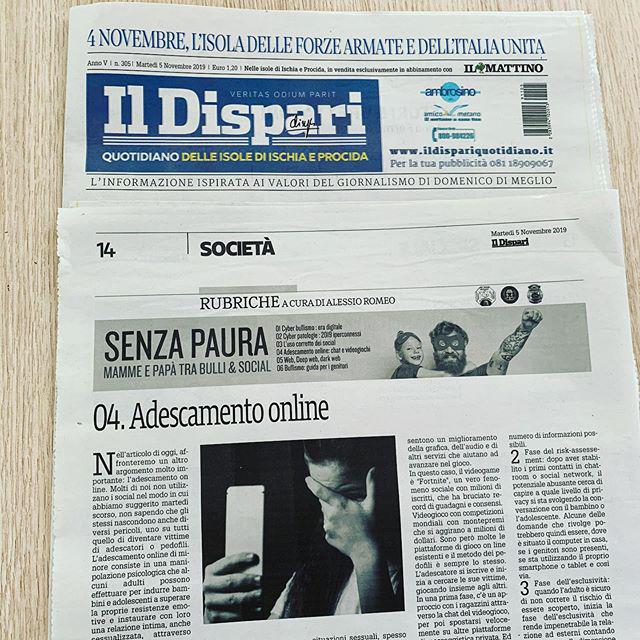 "Rubrica de ""Il Dispari"" SENZA PAURA – IV"