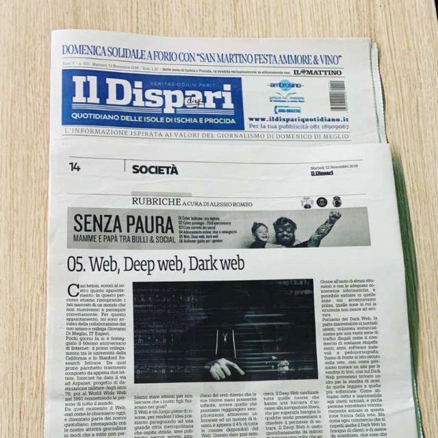 """Rubrica de """"Il Dispari"""" SENZA PAURA – V"""