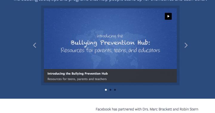 facebook report cyberbullysm