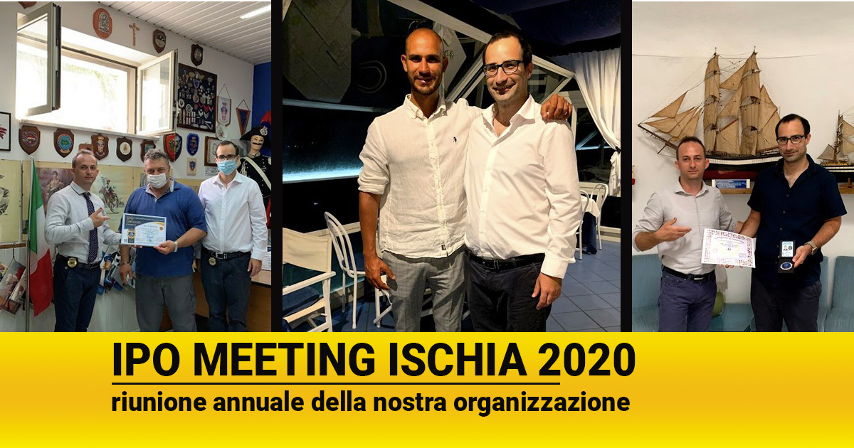 Meeting annuale dell'International Police Organization a Ischia